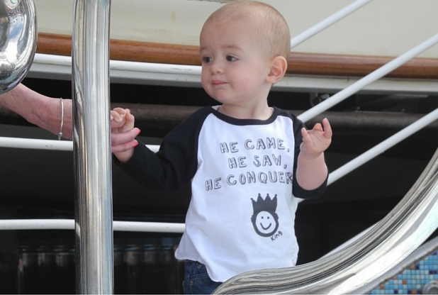 Such an apt tee for our little explorer