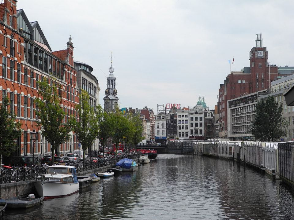 One of Amsterdam's beautiful canals