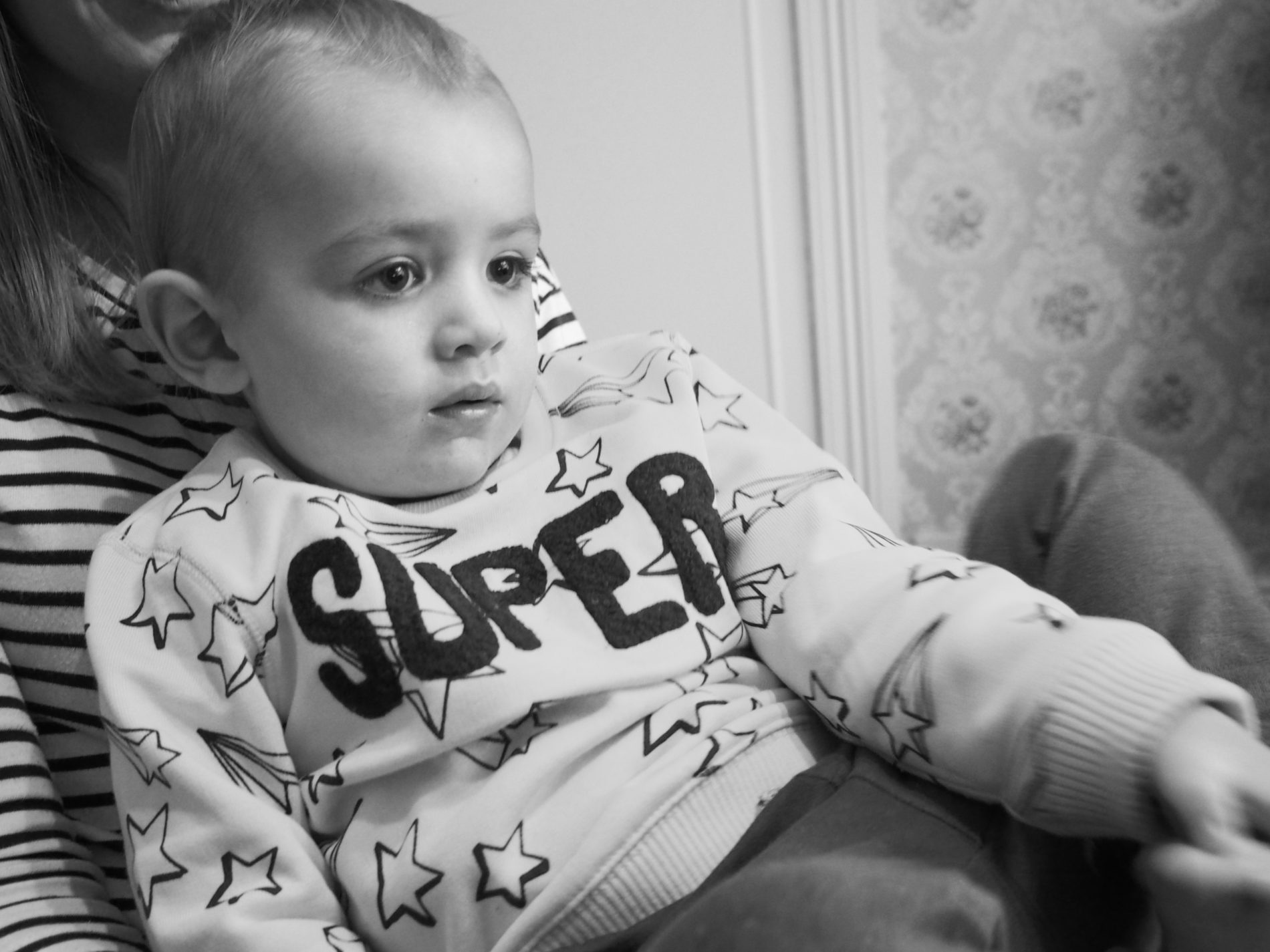 Engrossed in Toy Story