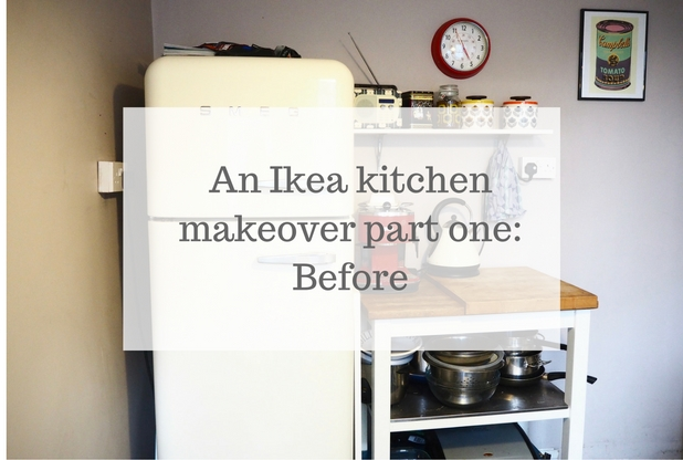 Ikea kitchen makeover: Before