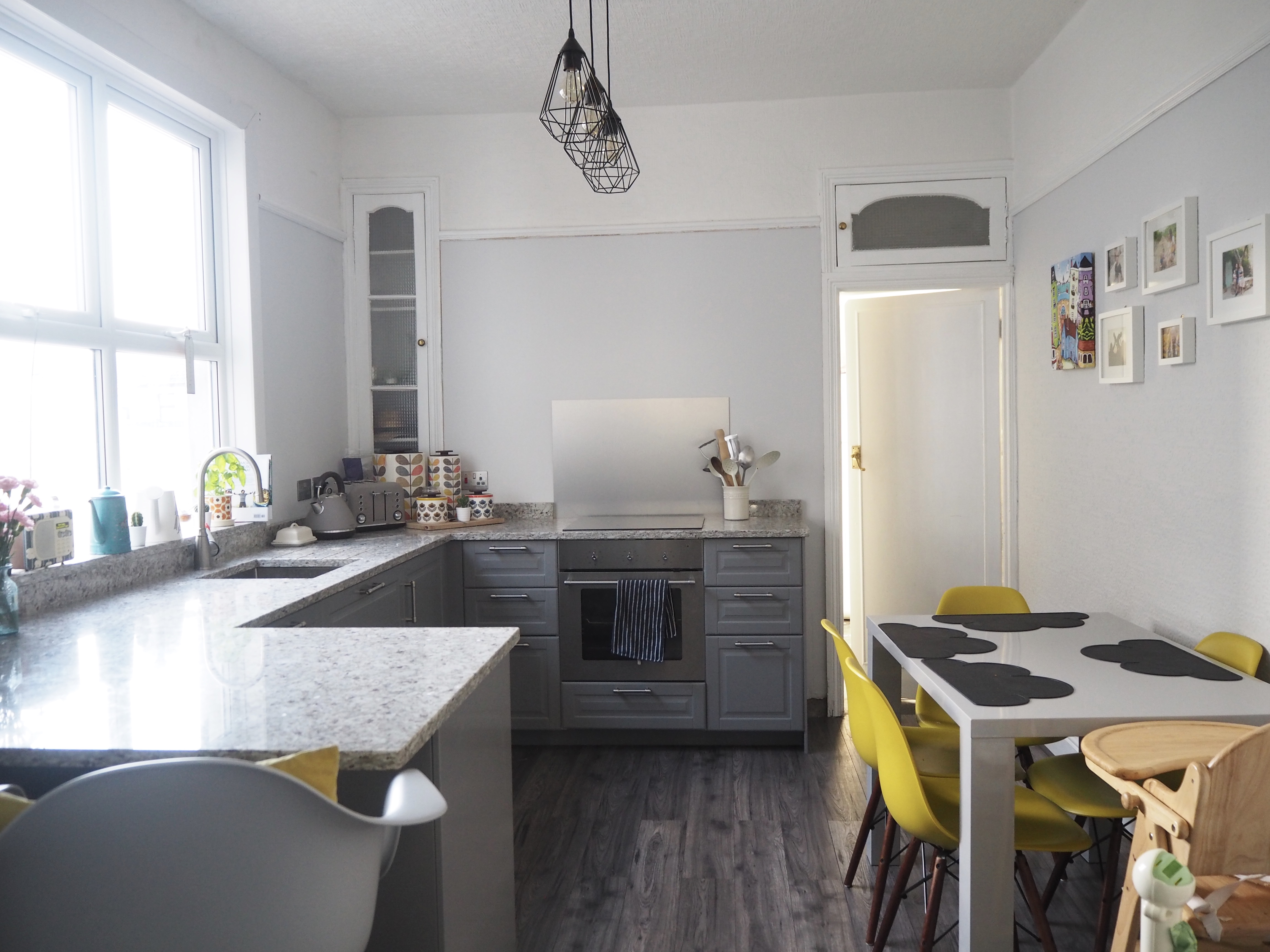 Grey IKEA kitchen makeover