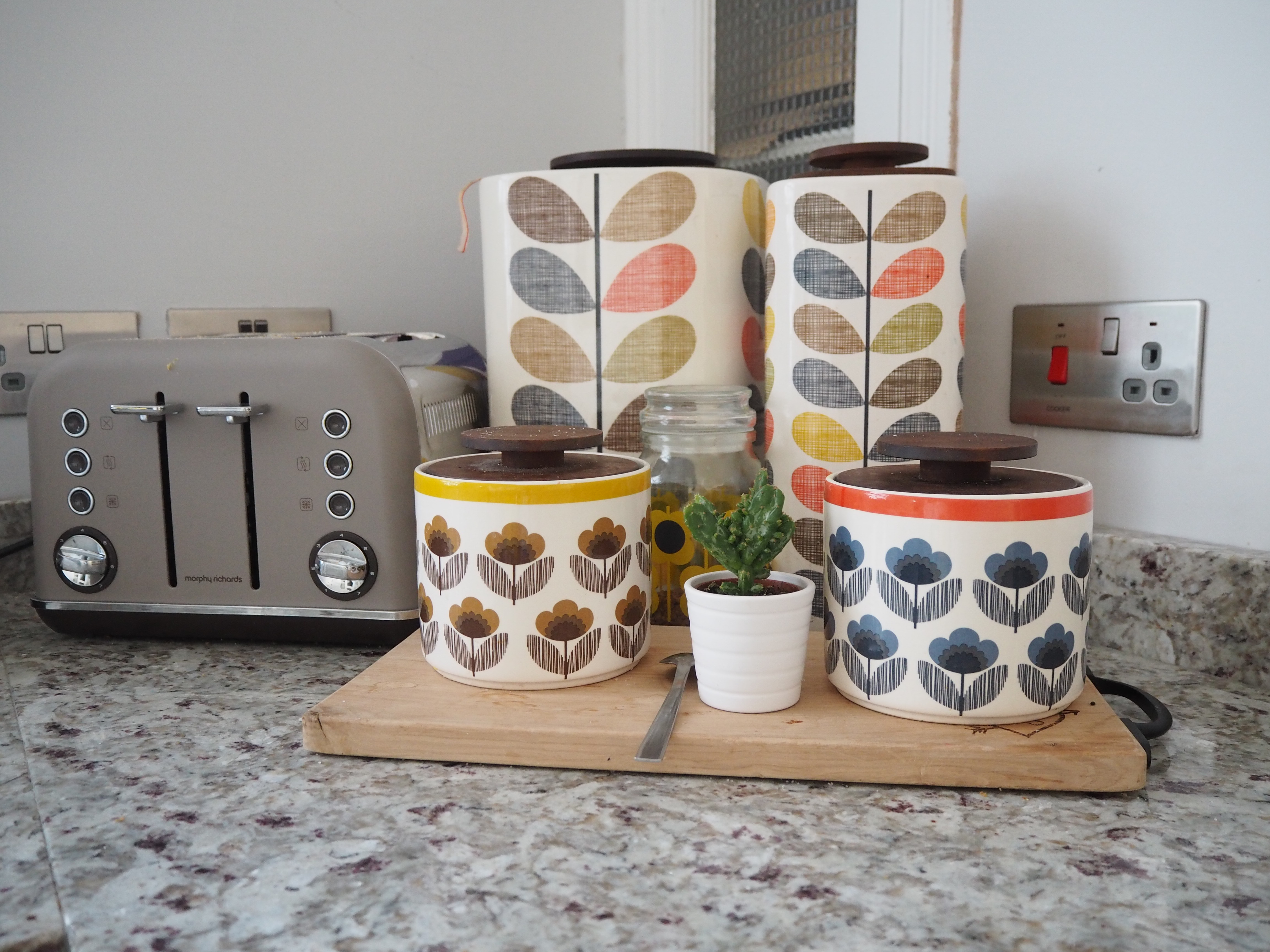 Orla Kiely kitchen