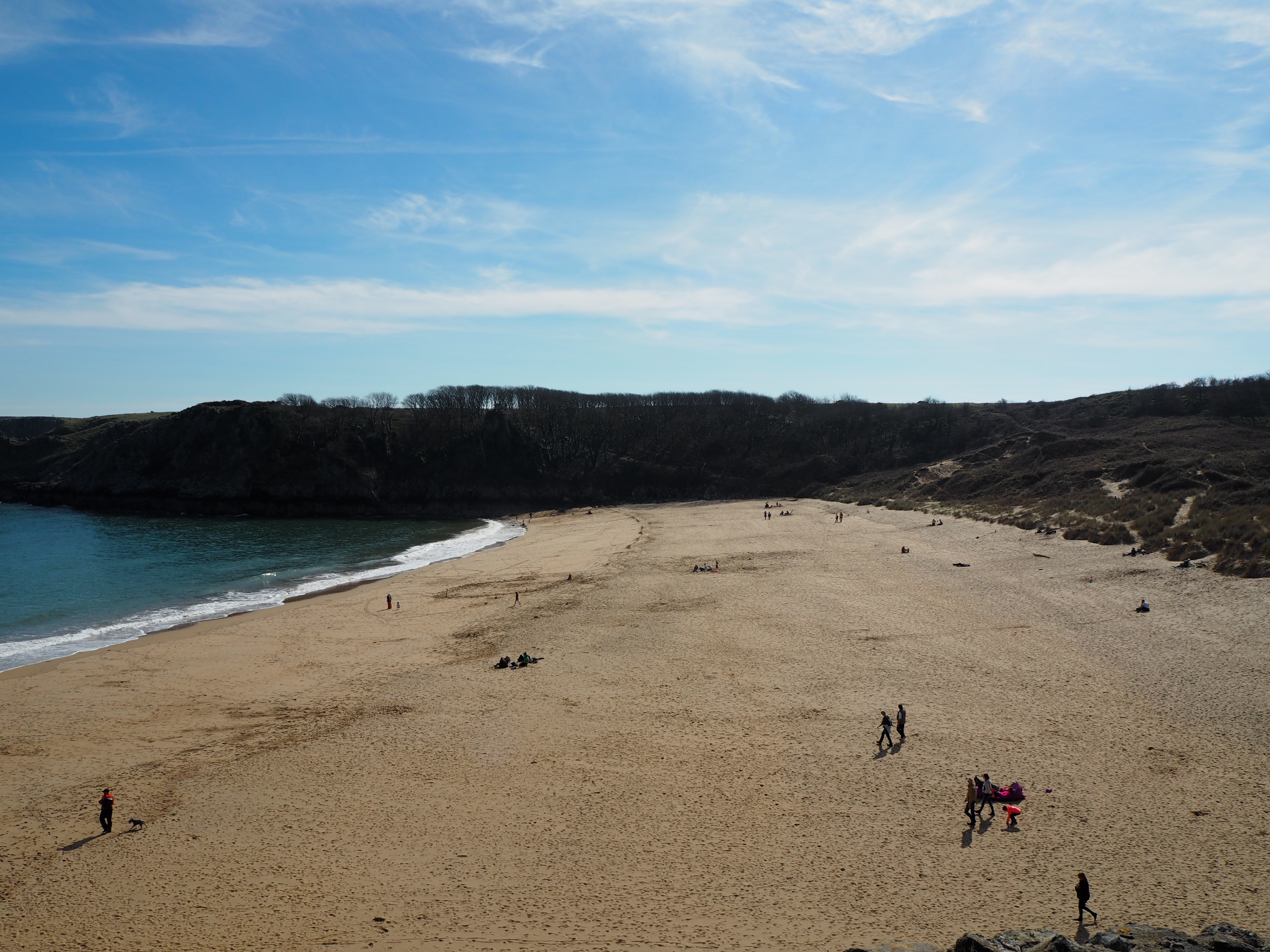 Barafundle beach Pembrokeshire
