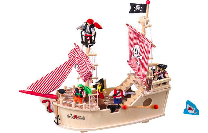 Lidl pirate ship