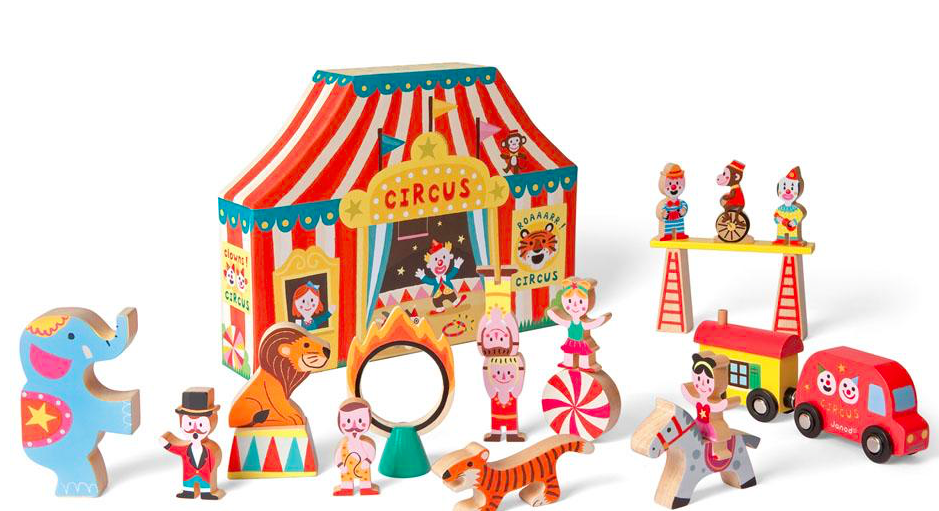 Janod wooden circus