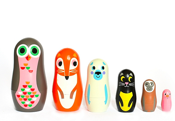 Omg Design nesting animals
