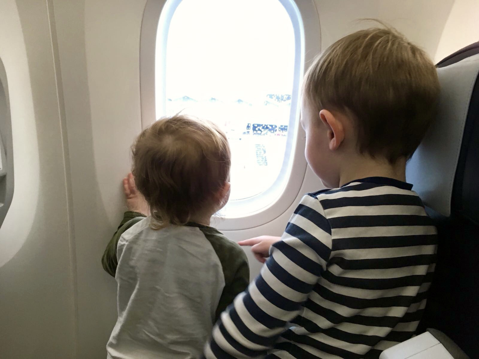 Long haul flight to Barbados with children